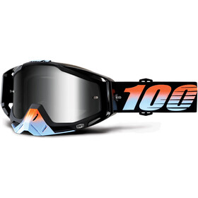 100% Racecraft Anti Fog Mirror goggles, starlight